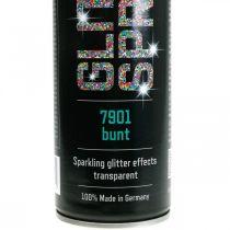Spray de purpurina para la elaboración de oropel de pintura colorida en aerosol 400ml