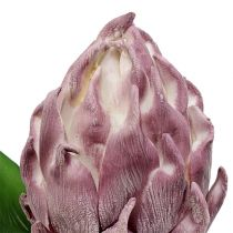 Alcachofa de espuma violeta claro 14cm L28cm 1pc