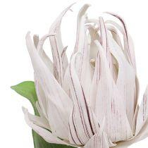 Foam Blossom White, Purple 12cm L30cm 1pc