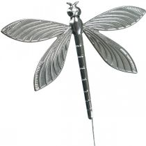 Decoración de primavera, libélula de enchufe de decoración, decoración de boda, verano, libélula de metal 12 piezas