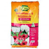 FRUX suelo de flores y geranios para balcones 40l