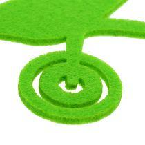 Herramientas de jardín fieltro verde 24pcs