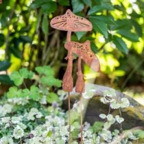 Tapón de jardín par de setas Edelrost H49.5cm