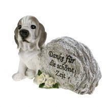Piedra conmemorativa para perros 8cm x 11.5cm x 7cm 2pcs