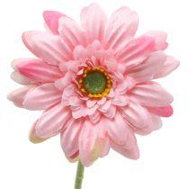 Gerbera Rosa artificial 47cm 12pcs