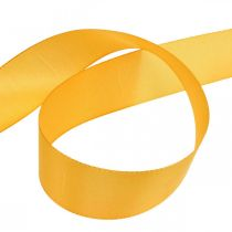 Cinta de regalo cinta decorativa cinta de seda naranja 40mm 50m