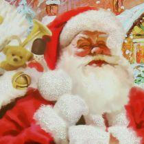 Bolsa de regalo Santa Claus 24cm x 18cm x 8cm