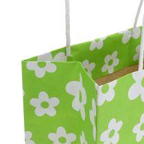 Bolsas de regalo verde 20cm x 11cm x 25cm 8pcs