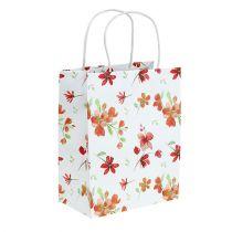 Bolsas de regalo con flores 25cm x 20cm x 11cm 6pcs