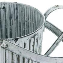 Lata de metal para plantar, regadera para decorar, lata de plantar Ø17cm