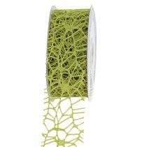 Cinta de rejilla verde 40mm 10m