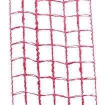 Cinta de malla 4,5cm x 10m rosa