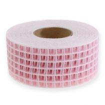 Cinta de cuadrícula 4.5cm x 10m rosa