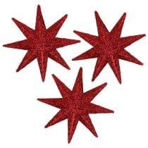 Estrella purpurina roja Ø5cm 20pcs