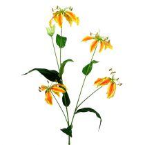 Gloriosa rama naranja-amarillo 90cm 1pc