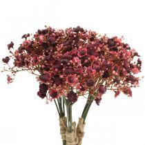 Gypsophila artificial rojo flores artificiales otoño 29.5cm 18pcs