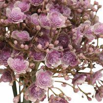 Gypsophila decoración de otoño violeta artificial 29.5cm 18pcs