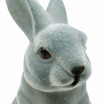 Conejito de Pascua sentado en posición vertical, figura decorativa conejito en bandada, decoración de Pascua 3 piezas