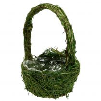 Asa de cesta Moss Ø18cm H27cm Verde