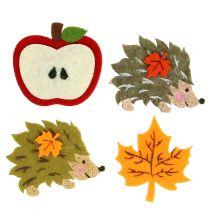 Decoración de otoño para extender y pegar fieltro 12 piezas