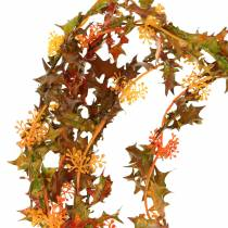 Guirnalda de otoño naranja 3m