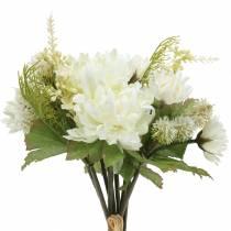 Ramo de Crisantemo Mix Blanco 35cm