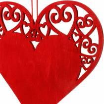 Corazón para colgar, decoración de boda, colgantes de corazón, decoración de corazón, San Valentín 12 piezas