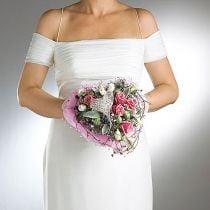 Portavasos de espuma floral para novias Ø7cm 16cm 6pcs