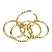 Anillos de boda oro Ø3cm 25pcs