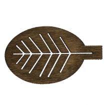Hojas de madera clasificadas 4cm naturaleza 72pcs