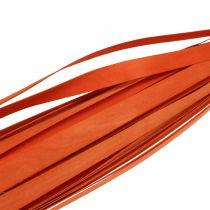 Listones de madera para tejer Naranja 95cm - 100cm 50pcs