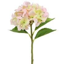 Hortensia artificial rosa claro 36cm