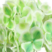 Hortensia artificial verde, blanco 68cm