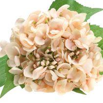 Hortensia artificialmente rosa 61cm