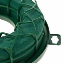 OASIS® IDEAL anillo universal corona de espuma floral verde H4cm Ø18.5cm 5pcs
