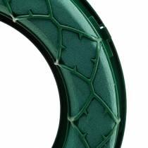 OASIS® IDEAL anillo de espuma floral universal verde Ø27.5cm 3pcs