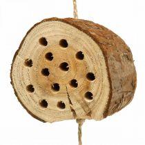 Insecto hotel madera H65cm ayuda de nido para colgar