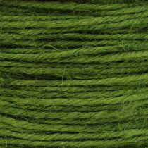Cordón de yute verde Ø2mm 100g