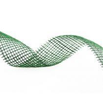 Cinta de yute verde oscuro 5cm 40m