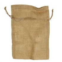 Bolsas de yute natural 16cm x 24cm 10pcs