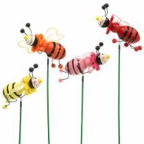 Enchufe decorativo escarabajo colores surtidos H25cm 12pcs