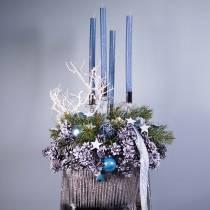 Cono de pino negro encerado, 200 piezas