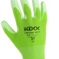 Guantes de jardinería Kixx talla 7 verde claro, lima