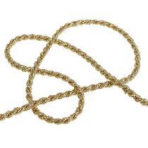 Cinta cordón dorado 4mm 25m