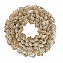 Guirnalda decorativa caracoles Guirnalda decorativa para puerta Marítima caracoles marinos Ø25cm