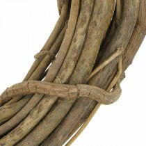 Corona decorativa de ramas naturaleza Ø35cm