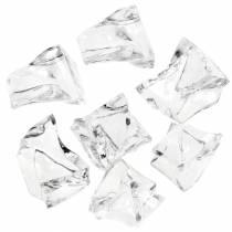 Cubito de hielo decorativo transparente 3cm - 4cm 500g