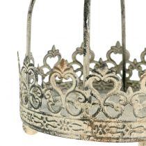 Corona para colgar crema antigua Ø10,5cm