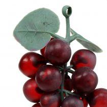Uvas artificiales Burdeos 10cm