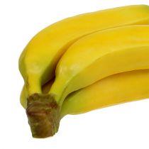 Racimo de plátano artificial amarillo 23cm